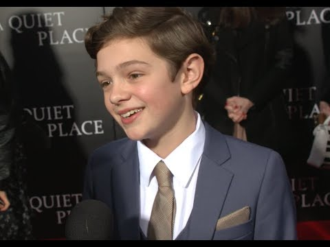 A Quiet Place NY Premiere - Actor Noah Jupe Interview