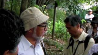 宮崎駿監督×河村市長トトロの森でばったり会談④