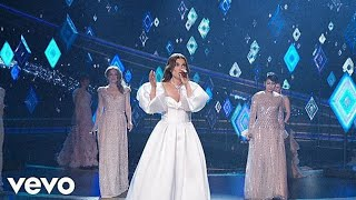 """Download lagu Idina Menzel """"Into The Unknown"""" Frozen 2 (92nd Oscars 2020) Performance """"AURORA"""" Complete HD"""