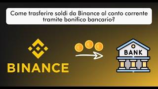 è possibile trasferire bitcoin al conto bancario)