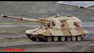 Russian Military Tank Exercise