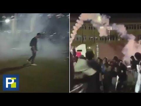 Así Intentaron Dispersar Las Autoridades Las Protestas En República Dominicana