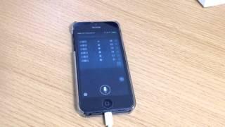 "iOS 8 Beta ""Hey, Siri!"" を試してみた。"