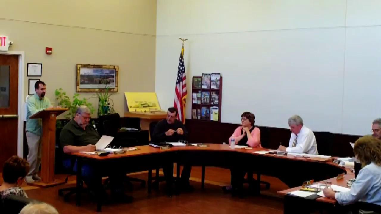Dannemora Town Board Meeting part one  5-23-18