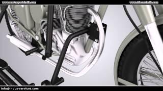 Royal Enfield Sidecar Attachment Tutorial
