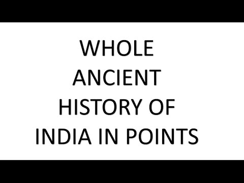 ANCIENT HISTORY OF INDIA IN ONE LECTURE  FOR ALL COMPETITIVE  EXAM # ONLINE EDUCATION DEGREE #