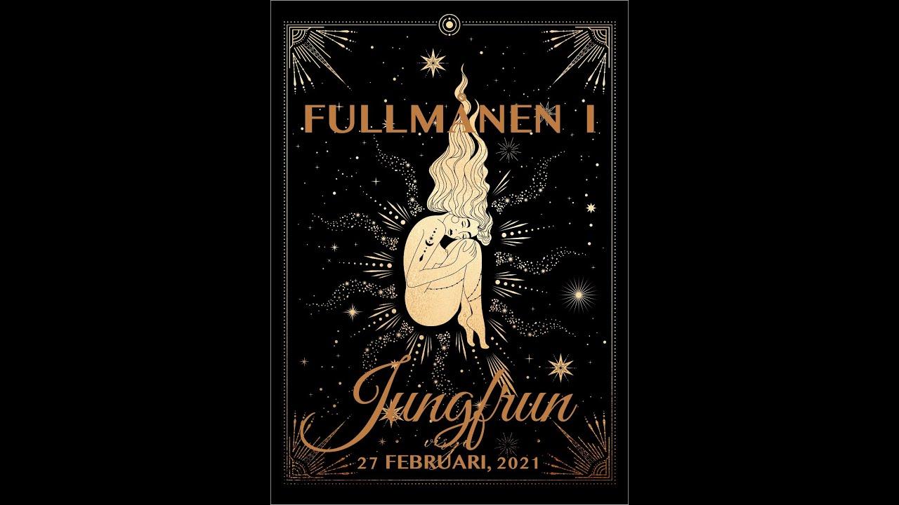 Fullmånen i Jungfrun 27 Februari, 2021