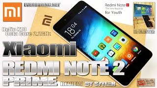 Xiaomi Redmi Note 2 Prime (Review) 2.2GHz MT6795 Helio X10 - Video by s7yler