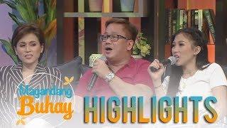 Magandang Buhay: Toni and Alex Gonzaga with their Uncle Jojo