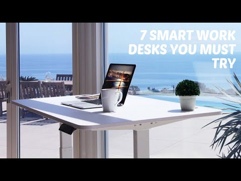 7 Smart Office Desks For Home You Must Try
