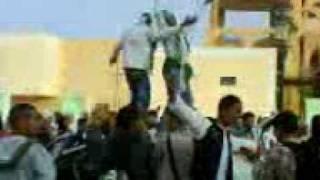 سيدي عقبة-فرحة فوز الجزائر على مصر