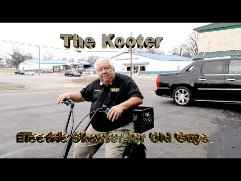Kooter - Electric Skooter for Old Guys