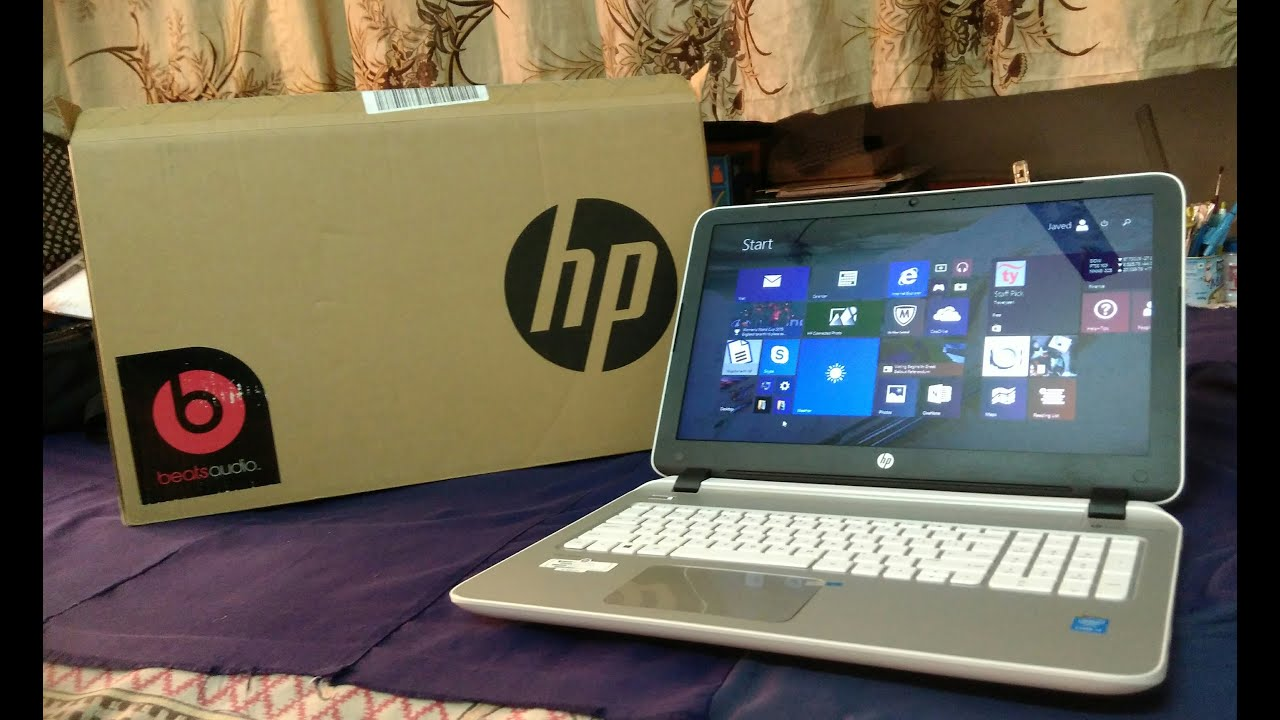 Hp Pavilion 15 P202tu With Beats Audio Unboxing And