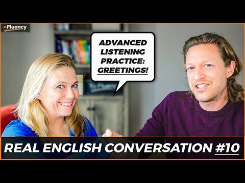 Advanced English Conversation: How to Greet People in America & Handshakes vs Hugs 😀