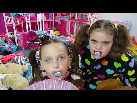 Thumbnail: Bad Baby Victoria Messy Toy Room Fail Annabelle Toy Freaks Family Hidden Egg