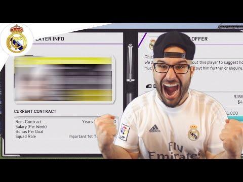 THREE MASSIVE REAL MADRID SIGNINGS! - Real Madrid Career Mode FIFA 16 #04