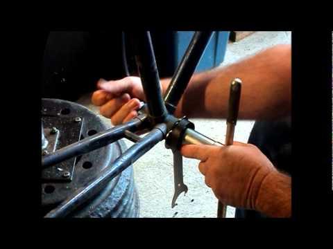 83 Nishiki bicycle II. disassembly..