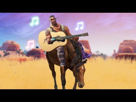 "Fortnite Community Sings ""Old Town Road"""