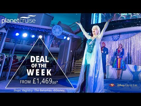 TRAVEL with DISNEY CRUISE LINE to the Norwegian Fjords | Planet Cruise Deal of the Week