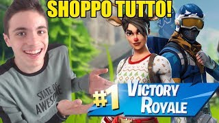 "SHOPPO 50 EURO FOR THE SKIN OF NATAL ON FORTNITE!! WATCH WHAT SUCCEDE... ""expensive"""