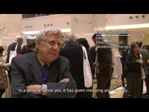 Paul Andreu, Architect and Dean emeritus of the Architecture Department at Zhejiang University