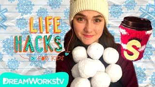 Cold Weather Hacks | LIFE HACKS FOR KIDS