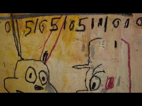Jean Michel Basquiat Words Are All We Have at NAHMAD CONTEMPORARY