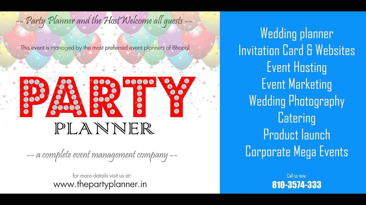 wedding event planned and organised by the party planner bhopal wwwthepartyplannerin