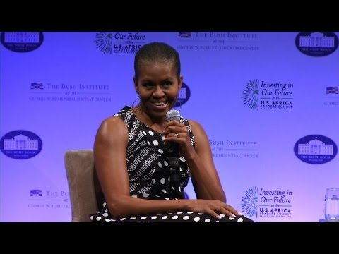 Michelle Obama calls for women empowerment in Africa