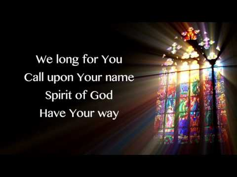 Spirit of God - Phil Wickham Lyrics