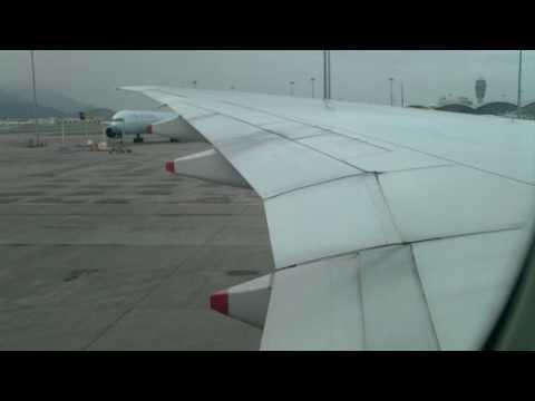 Singapore Airlines B777-300ER Pushback and Engine Start-up