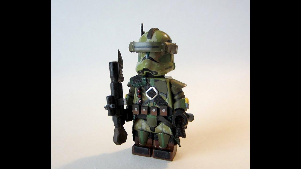 how to make a lego custom clone