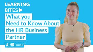 What you Need to Know About the HR Business Partner