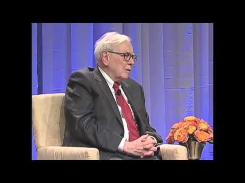 Warren E. Buffett, 25th Anniversary of The Economic Club of Washington, D.C.