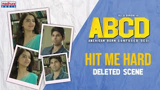 ABCD Movie Unseen Deleted Scene-3 I Allu Sirish I Rukshar Dhillon I Sanjeev Reddy