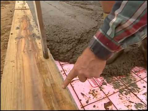 Termite Prevention and Pouring the Concrete Floor