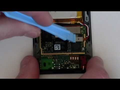 Zune HD Battery Replacement Installation Instruction Guide by www.RepairsUniverse.com