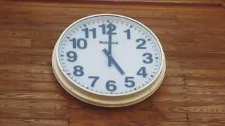 道駅 にしあいづ (さわやかトイレ)時計