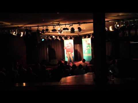 Ayden Doherty at the Laugh Resort, 2013.