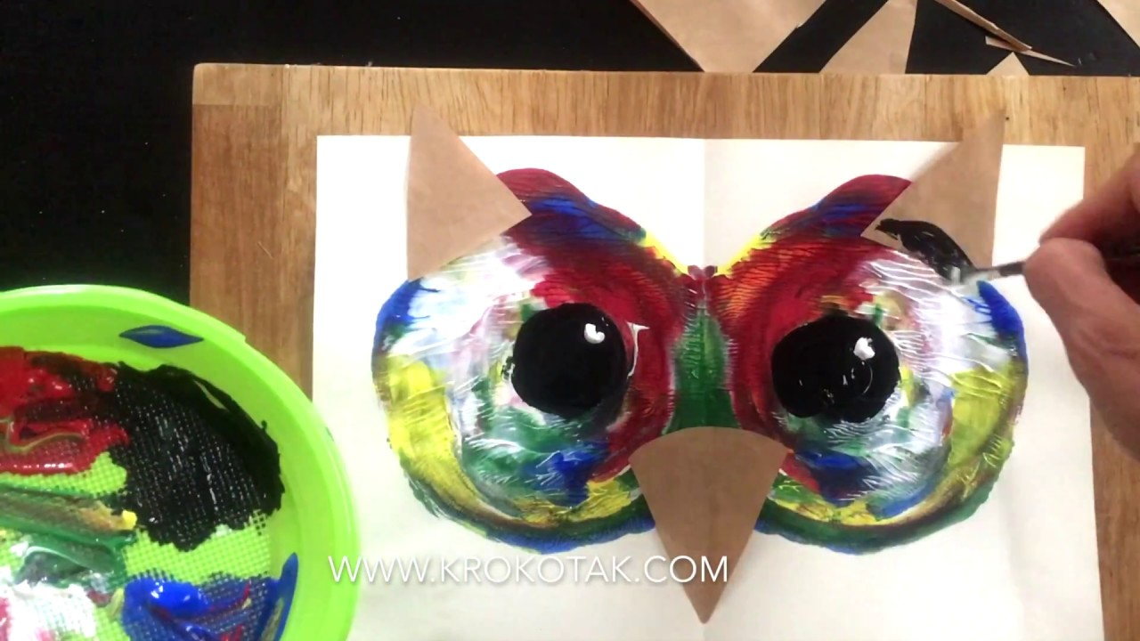 Krokotak Owl Head