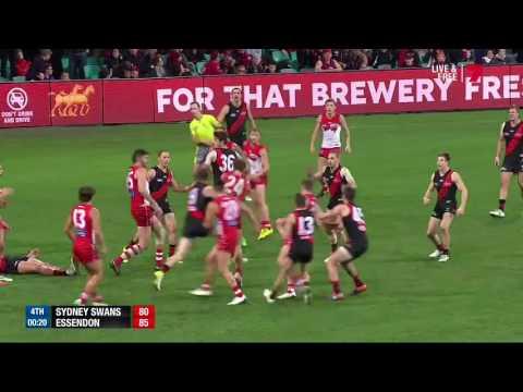Gary Rohan Kicks The Winning Goal After The Siren