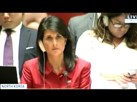 """THE WORLD IS ON NOTICE!"" Emergency United Nations Security Council Meeting On North Korea"