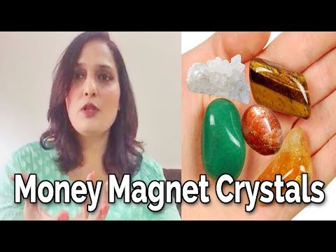 5 Crystals that make you Money Magnet | Crystals attracts Money | By Divyaa Pandit
