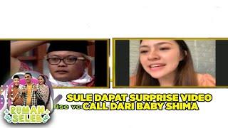 Download lagu Tersipu Malu Sule Dapat Surprize Call Dari Baby Shima Rumah Seleb 2 7 Part 4