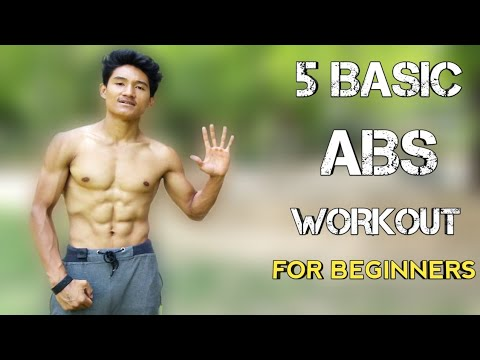 5 Basic Abs Workout For Beginners | I'm Vikram Tamang