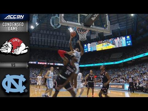 Gardner-Webb Vs. North Carolina Condensed Game | 2019-20 ACC Men's Basketball