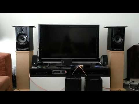 Norah Jones 'Tennessee Waltz' through Wharfedale AT200 Speakers + Trends Audio Amplifier