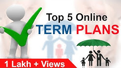Best Term Insurance Plan in India | Comparison of Most popular Term Insurance by Yadnya