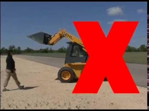 Gehl Skid Loader Safety Video