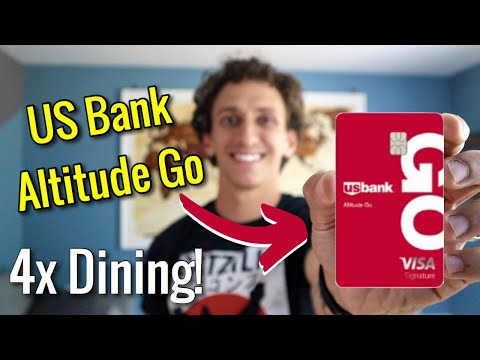 NEW: US Bank Altitude Go Credit Card | Best Dining Credit Card?